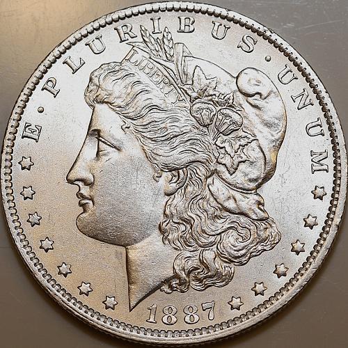 1887 O Morgan Silver Dollar - Gem BU / MS / UNC