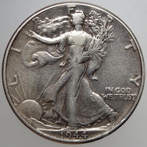 1944 P Walking Liberty Half Dollar #15