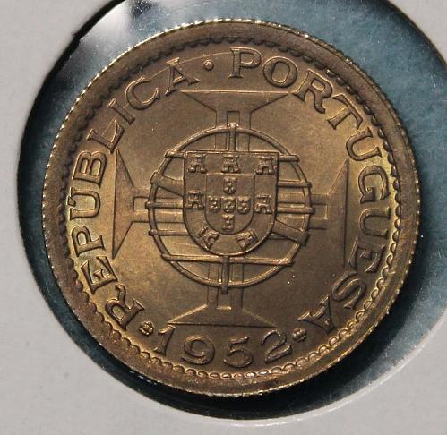 Macau 1952 50 avos
