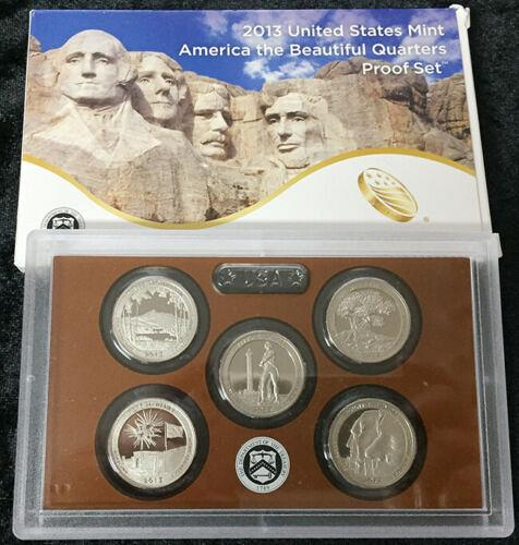2013  S  PROOF QUARTER  SET
