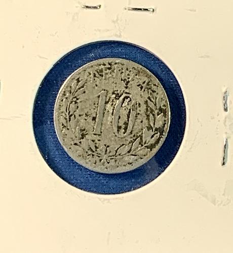 Greece 1894 A 10 Lepta