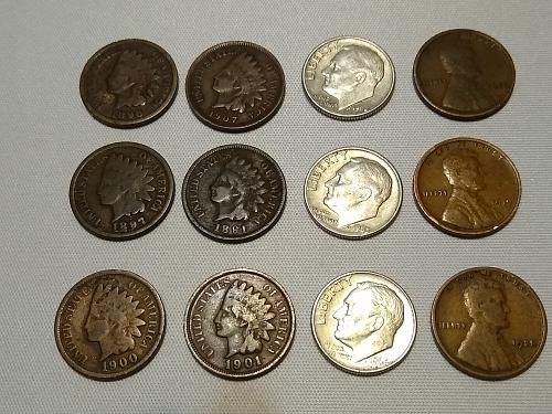 12 COIN LOT