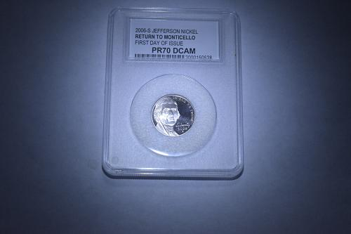 2006 S PCC JEFFERSON NICKEL PR70 DCAM