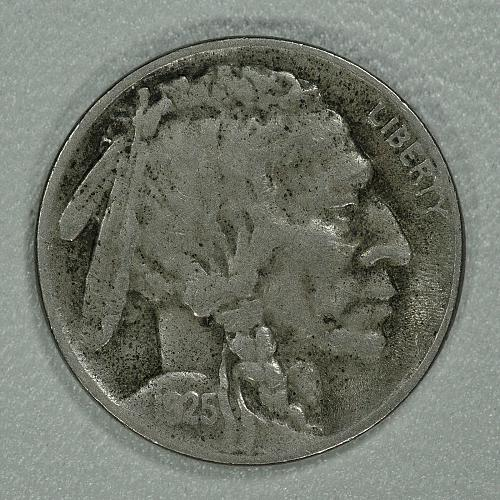1925-S VF Buffalo Nickel, a nice piece for the date with a lot of detail remaing
