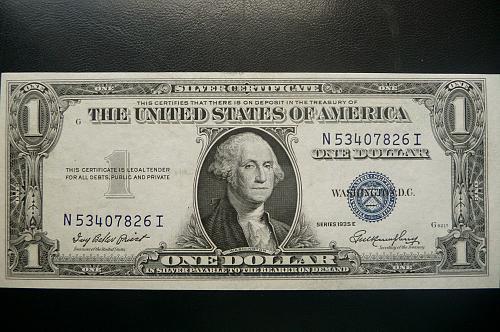 1935 E  $1.00 Silver Certificate