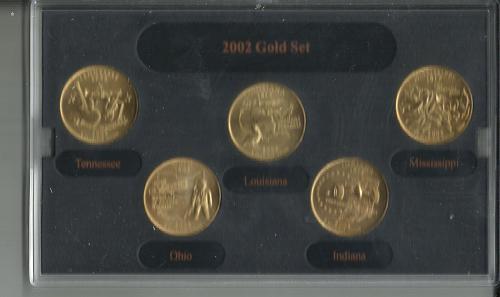 2002   D   UNCIRCULATED  QUARTER  MINT SET