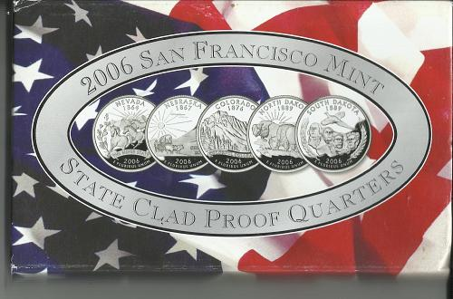 2006   S   PROOF  QUARTER  PROOF  SET