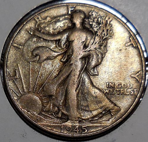 Walking Liberty Half Dollar 1945-P