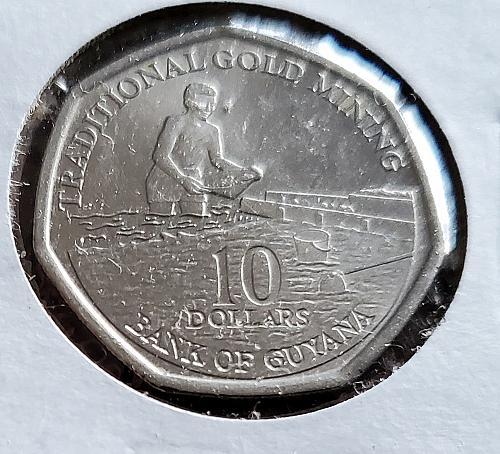 2009 - Guyana - 10 Dollars - KM #52 - 0107