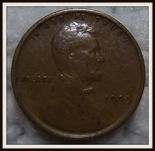 1909 VDB 1C Lincoln Wheat Cent (VF)