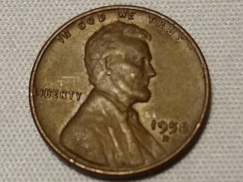 1958 D LINCOLN CENT