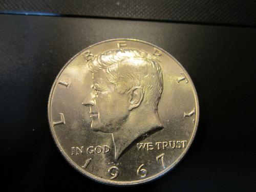 40% SILVER 1967 Kennedy Half Dollar Very Nice See Pictures