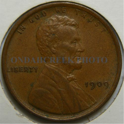 1909 Lincoln Cent Choice XF
