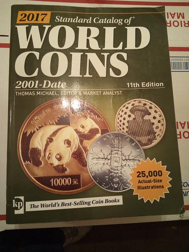 2017 Standard Catalog of World Coins 2001 to Date
