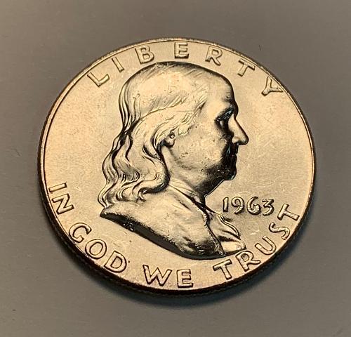 1963 Franklin Silver Half Dollar [FH 30]