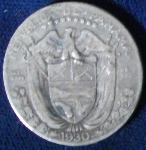 1930 Panama 1/4 Balboa Fine