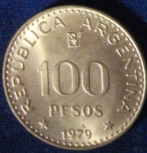 1979 Argentina 100 Pesos UNC