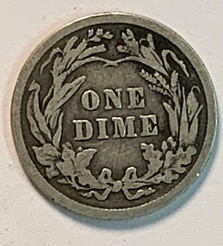 1912 P Barber Dime