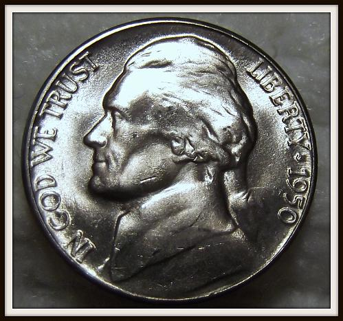 1950-D 5C Jefferson Nickel (BU)
