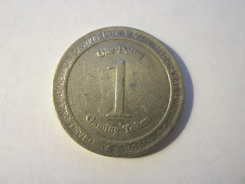 1$ CASINO TOKEN from Kewadin Casino Michigan U.P. 1996 See Pictures