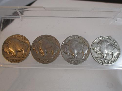 1935 S Buffalo Nickels   #3