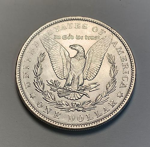 1886 Morgan Silver Dollar BU [MDL 170]