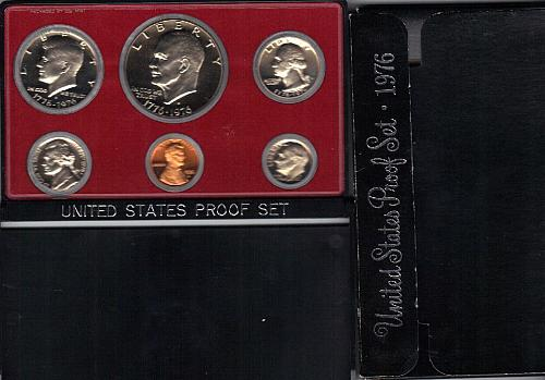 1976 U.S. Unc. (6) coin Proof Set