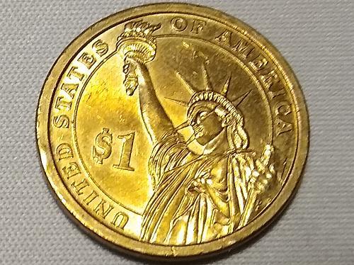 2008 P JOHN QUINCY ADAMS PRESIDENTIAL COIN