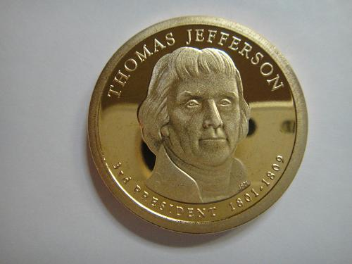 2007-S Jefferson Presidential Dollar Proof-66 (GEM+)