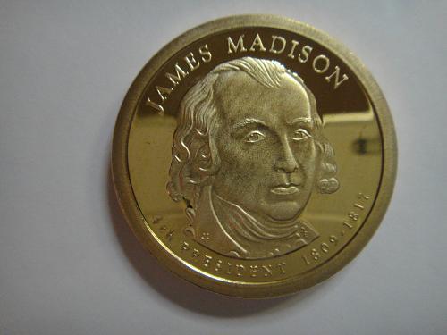 2007-S Madison Presidential Dollar Proof-66 (GEM+)