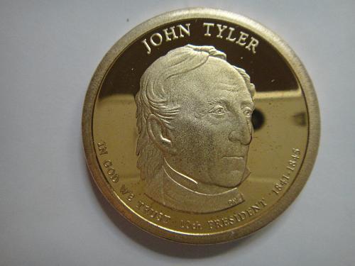 2009-S Tyler Presidential Dollar Proof-65 (GEM)