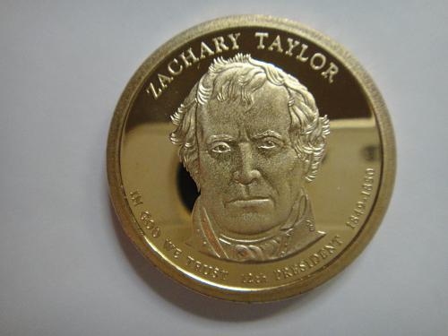 2009-S Taylor Presidential Dollar Proof-67 (SUPER GEM) Absolutely Stunning!