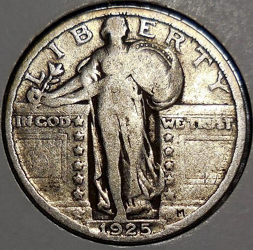 Standing Liberty Quarter 1925-P