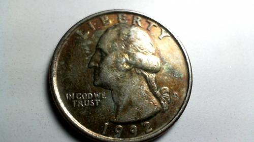 1992 D Washington Quarters