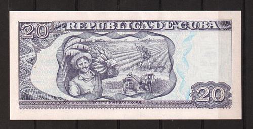 Cub2015 $20 Pesos Banknotes UNC