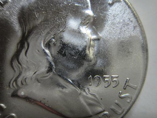 1955 BUGS BUNNY Franklin Half Dollar MS-64 (Near Gem)