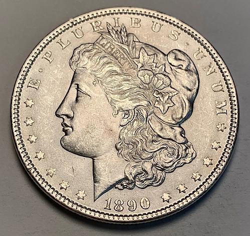 1890 Morgan Dollar UNC [MDL 245]
