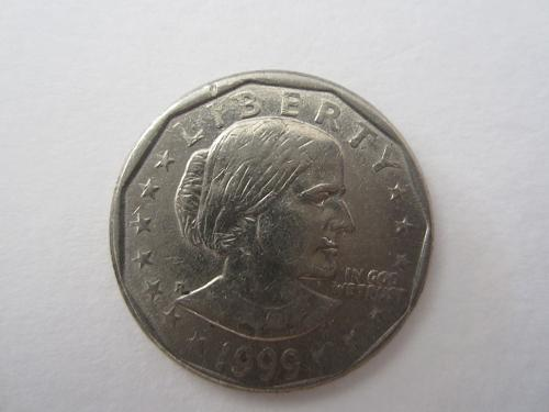 1999 P Susan B Anthony Dollars: See Picture