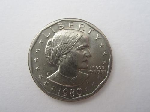 1980 D Susan B Anthony Dollars: See Picture