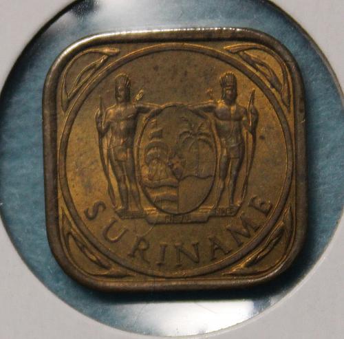 Suriname 1962 5 cents