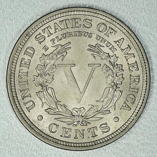 1909 Very Choice BU Liberty Nickel, honest BU beauty, strong luster & detail