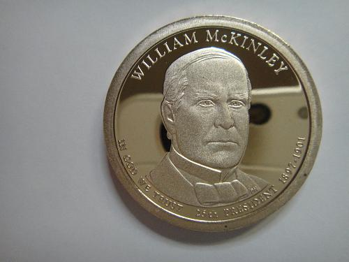 2013-S McKinley Presidential Dollar Proof-65 (GEM)