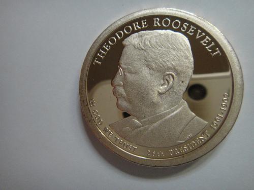 2013-S Theodore Roosevelt Presidential Dollar Proof-65 (GEM)