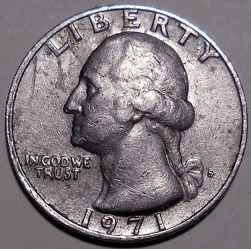 1971-S Washington Quarter