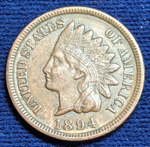 1894 AU INDIAN CENT