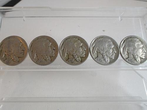 1936 D Buffalo Nickels   #2