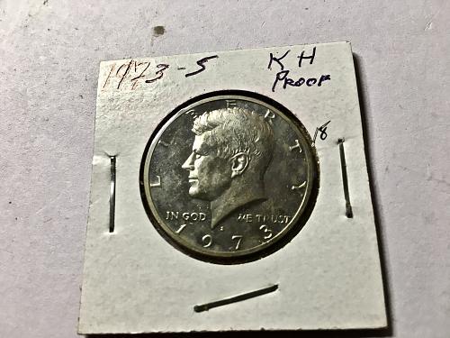 1973 S Kennedy Half Dollar #18