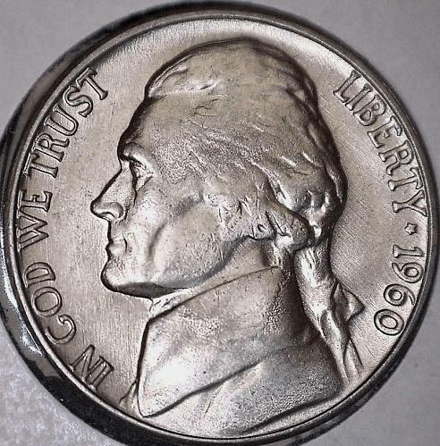 1960-D Jefferson Nickel 5c *** BU Uncirculated *** US Coin
