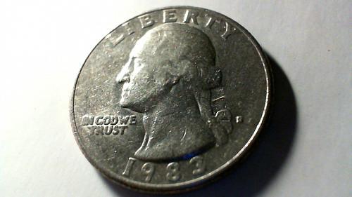 1983 D Washington Quarters