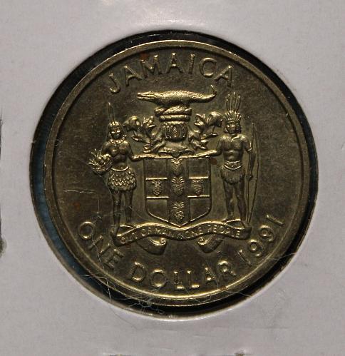 Jamaica 1991 1 Dollar